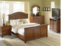 Oak Valley Chest And Headboard By Welton Furniture