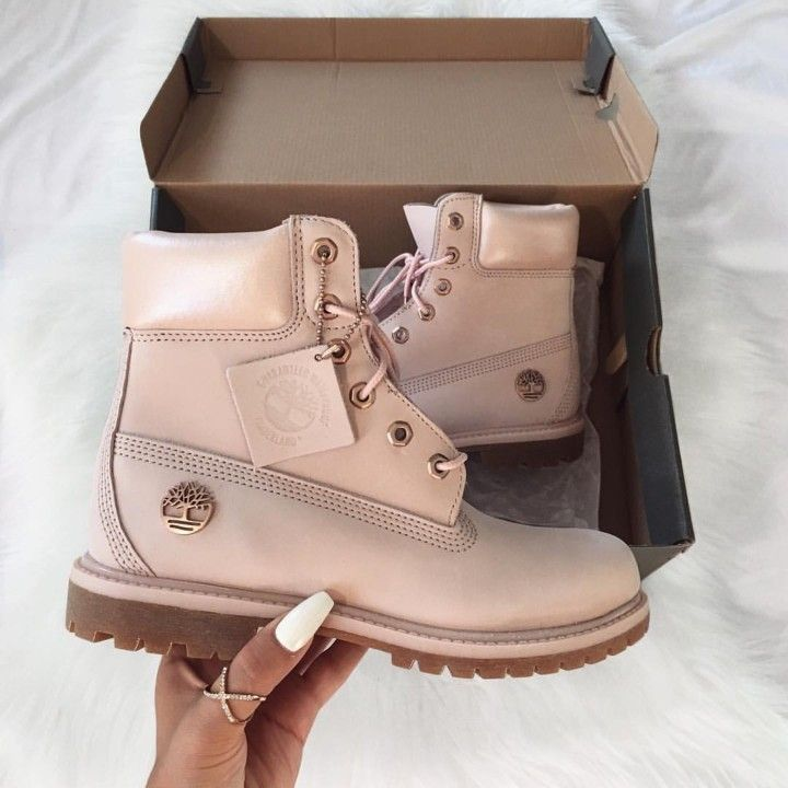 Timberland Boots 6 rosa pink Foto: selinesel |Instagram