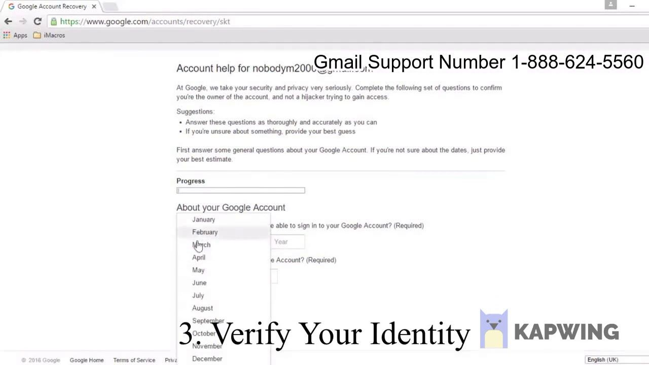 How To Recover Gmail Password Without Phone Number Or