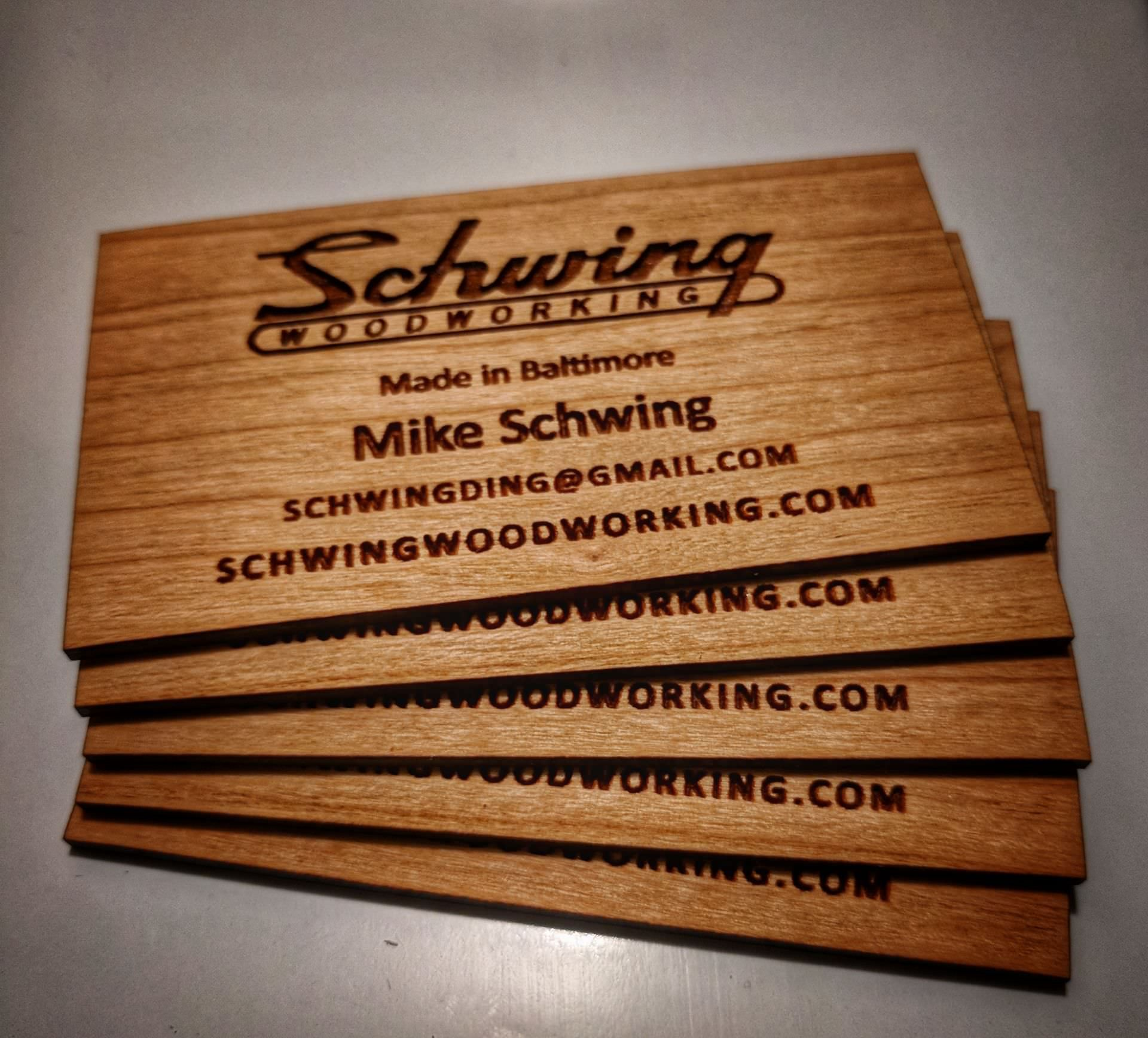 Business Cards Woodworking Choice Image - Card Design And Card ...