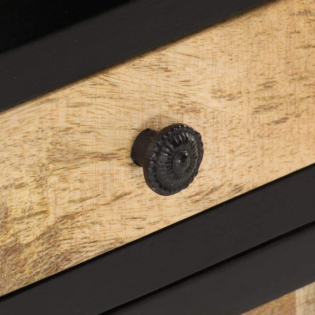 vidaXL Highboard 45x32x110 cm Solid Mango Wood 289105