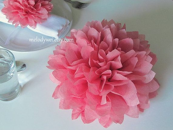 10 centerpieces 9 tissue paper flowers good for table decoration items similar to 10 centerpieces 9 tissue paper flowers good for table decoration and aisle decor on etsy mightylinksfo