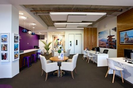 House Of Travel Had A Traditional Office Style Customer Retail Environment Spaceworks Was Engaged To