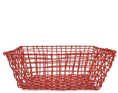 Design Ideas Small Orange Flexket Basket With Images Wicker Laundry Basket Basket Design