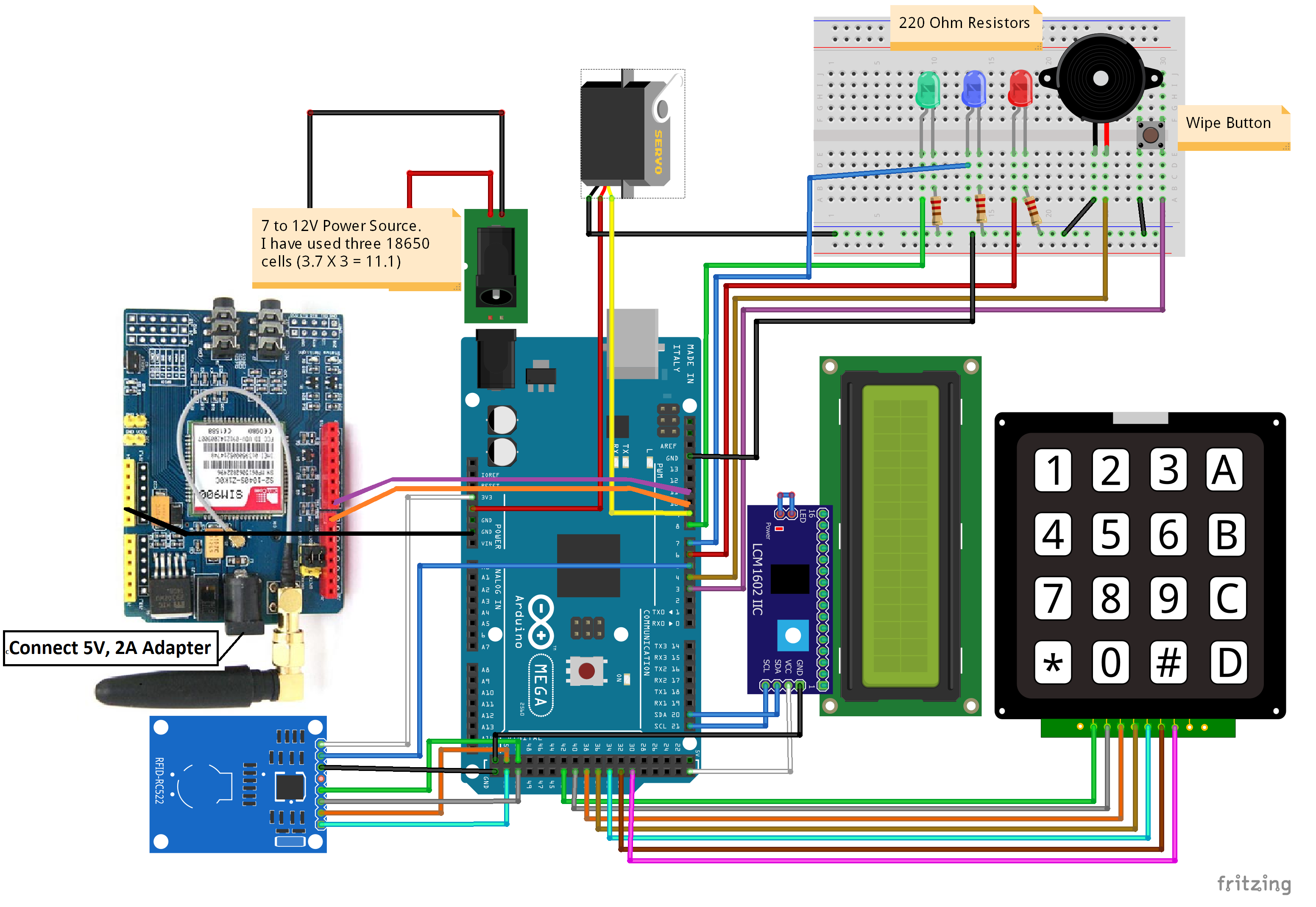 Rfid And Keypad Based Access Control And Alert System Using Arduino Bb P3ks1fbqwb Access Control Arduino Access Control System