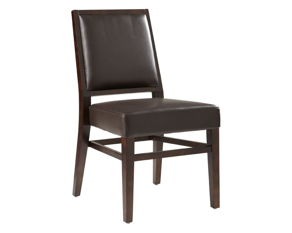 LUTHAIS DINING CHAIR BROWN