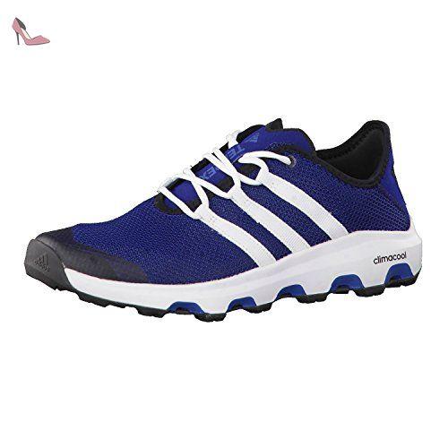 adidas Vlcourt–Baskets pour Homme, Bleu–(Azubas/FTWBLA/AZUMIS) Pointure 442/3