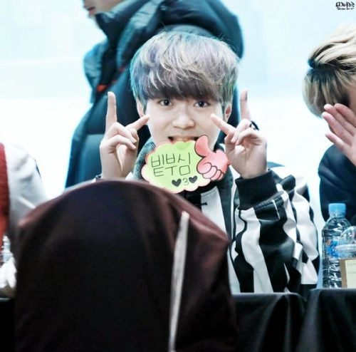 160122 UP10TION Cheongju Fansigning Bit-toCr:   모찌야까꿍  Do not edit