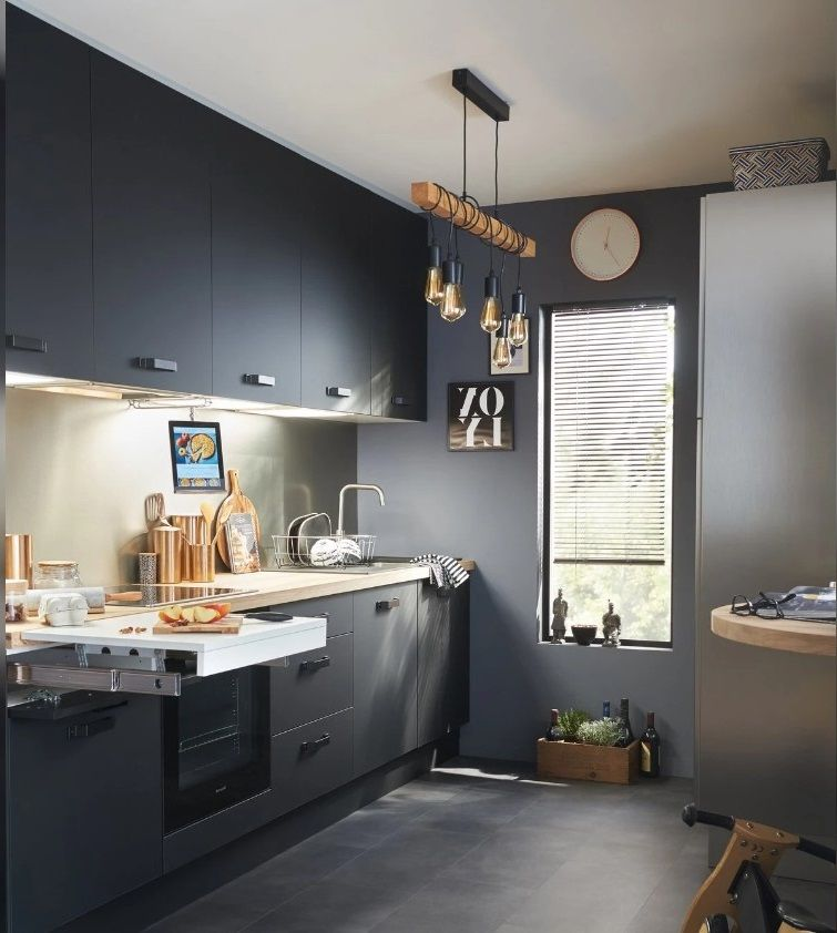 Cuisine Industrielle Leroy Merlin Selection Des Plus Beaux Modeles En 2020 Cuisine Style Industriel Cuisine Industrielle Leroy Merlin