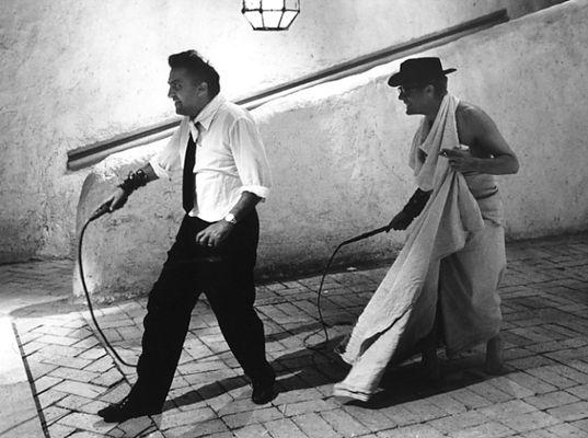 cinecitta fellini 8 1/2 | ... - Fellini E Mastroianni Sul Set Di ...