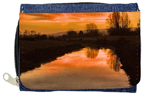 Lake design Denim Wallet ** More info could be found at the image url.