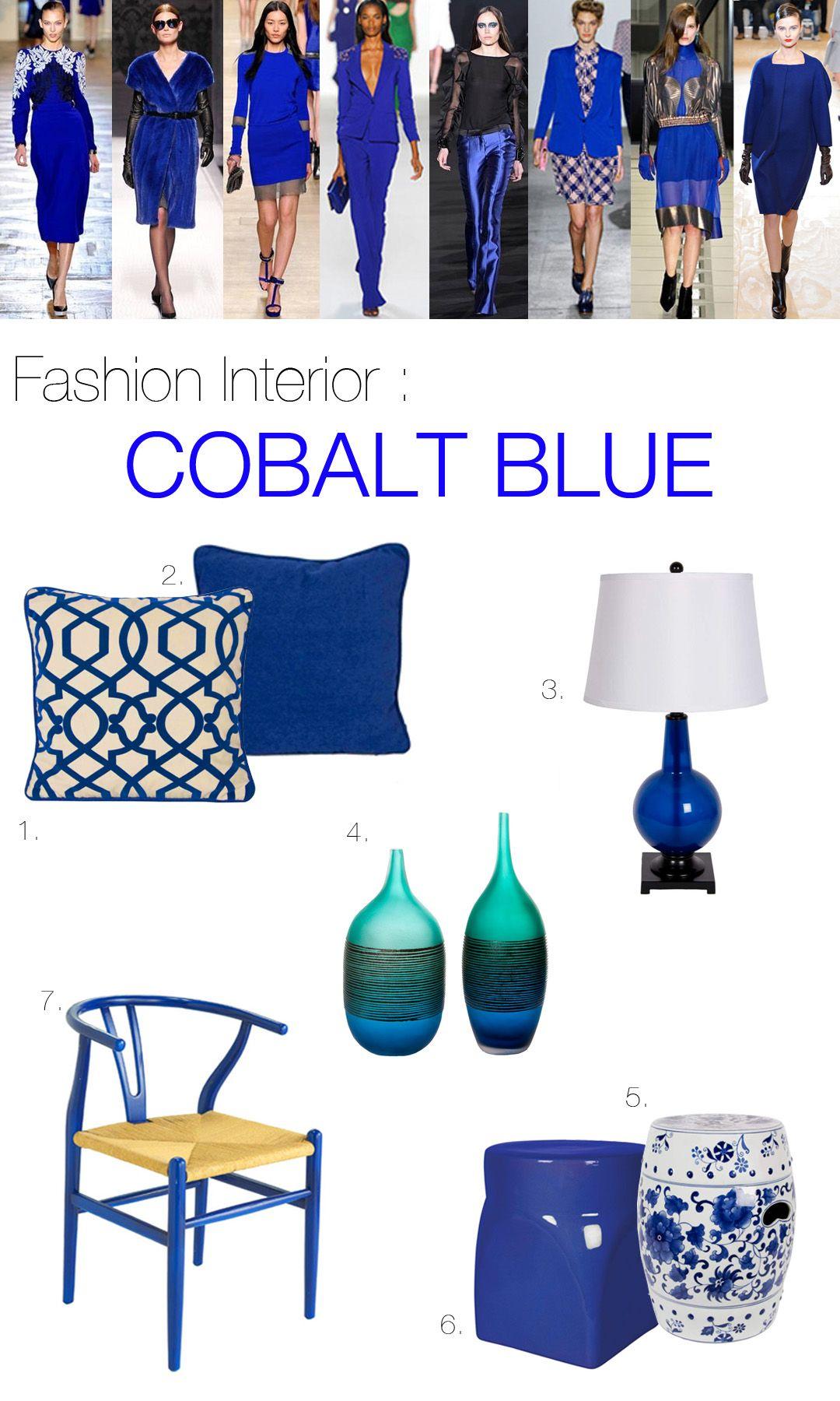 Cobalt Blue Decorating Accents Google Search