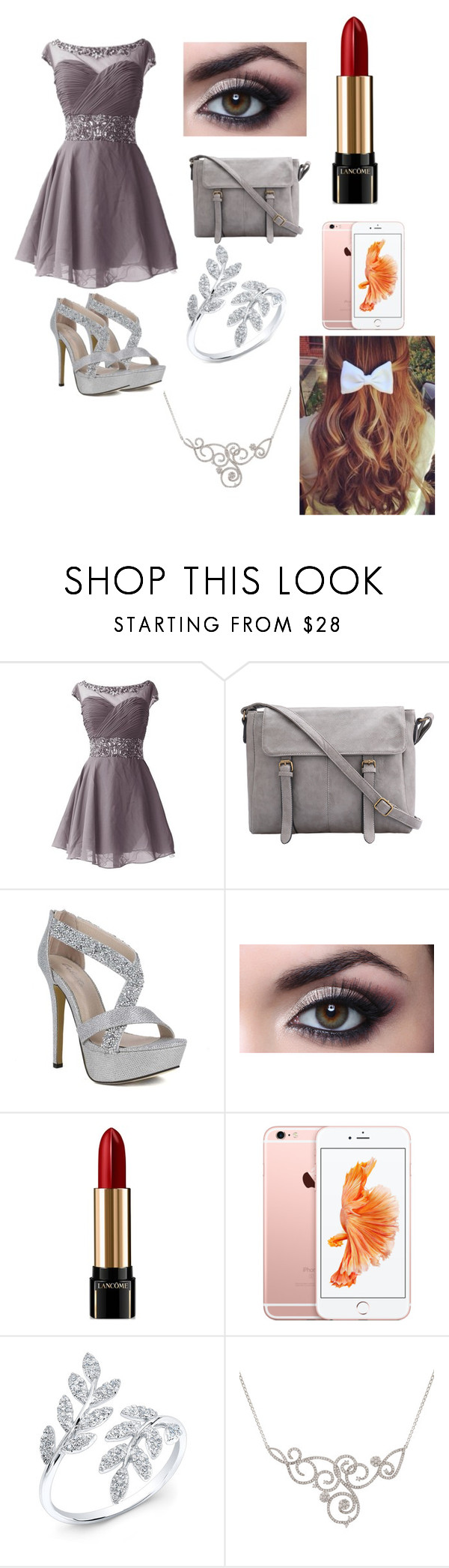 """""""Going to eat out with friends at a fancy restaurant"""" by tjgarcia104 ❤ liked on Polyvore featuring Lancôme"""