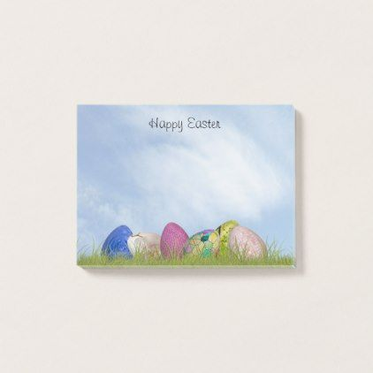 Happy easter floral photography easter eggs post it notes happy easter floral photography easter eggs post it notes photography gifts diy custom negle Choice Image