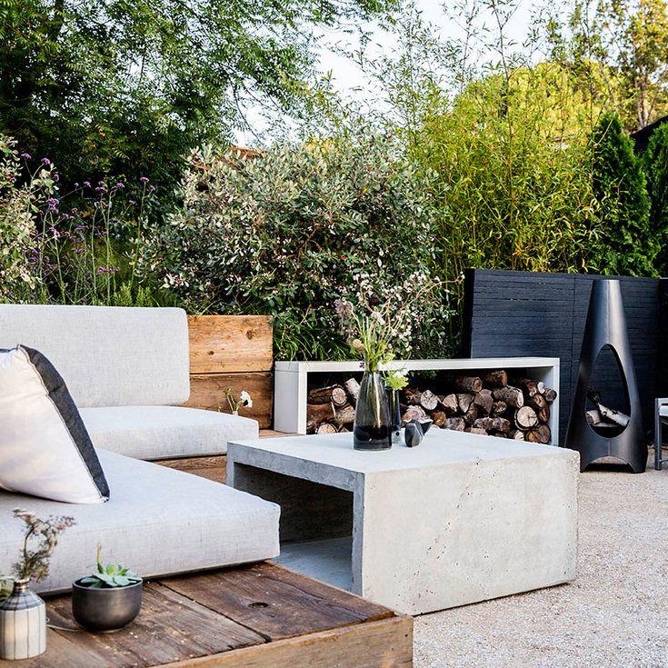 9 Ideas For A Sleek Urban Garden Idee Deco Exterieur Jardinage