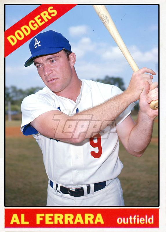 Baseball Cards Picturing All Qualifying Los Angeles Dodgers Rostered Players For 1966 Dodgers Baseball Cards Dodgers Baseball