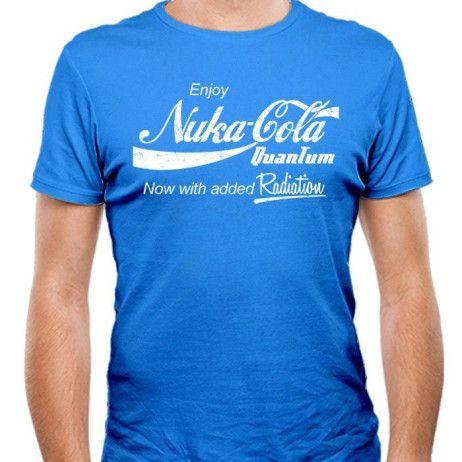 bd428ef47f0 Fallout  Nuka-Cola Quantum   Coca-Cola  Logo mashup t-shirt.