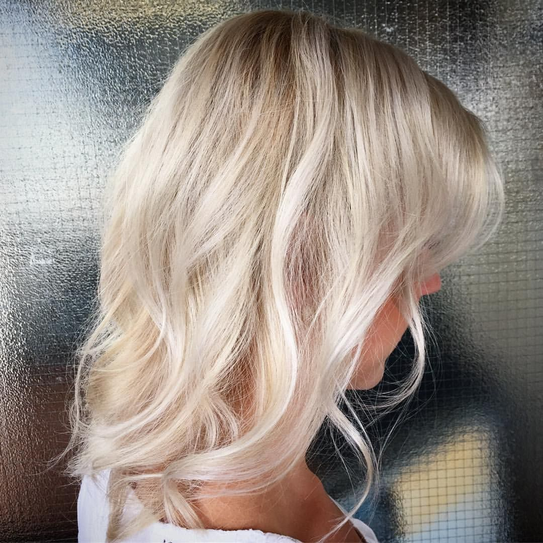 You can get platinum blonde color even for very delicate hair easily