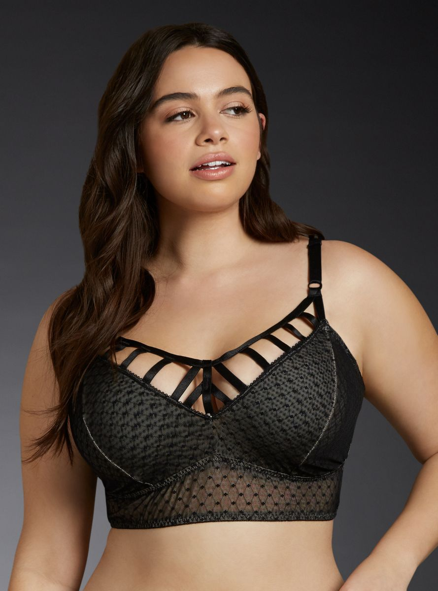 8888fb5be Cage Front Mesh Bralette
