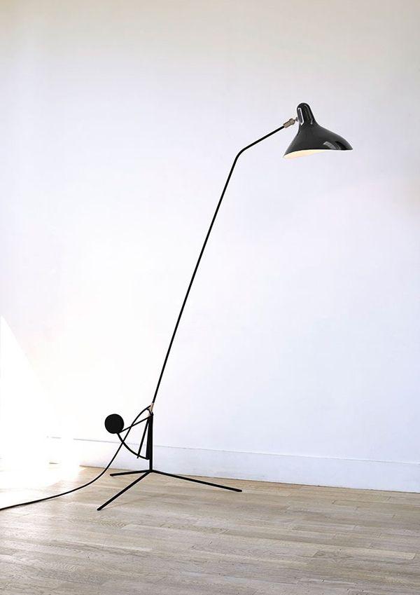 MANTIS Lamp, Bernard Schottländer, 1951.