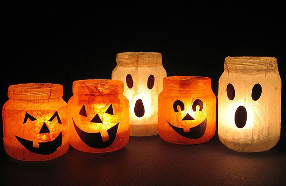 Why bother buying all the decorations for Halloween when you can get - fun and easy halloween decorations