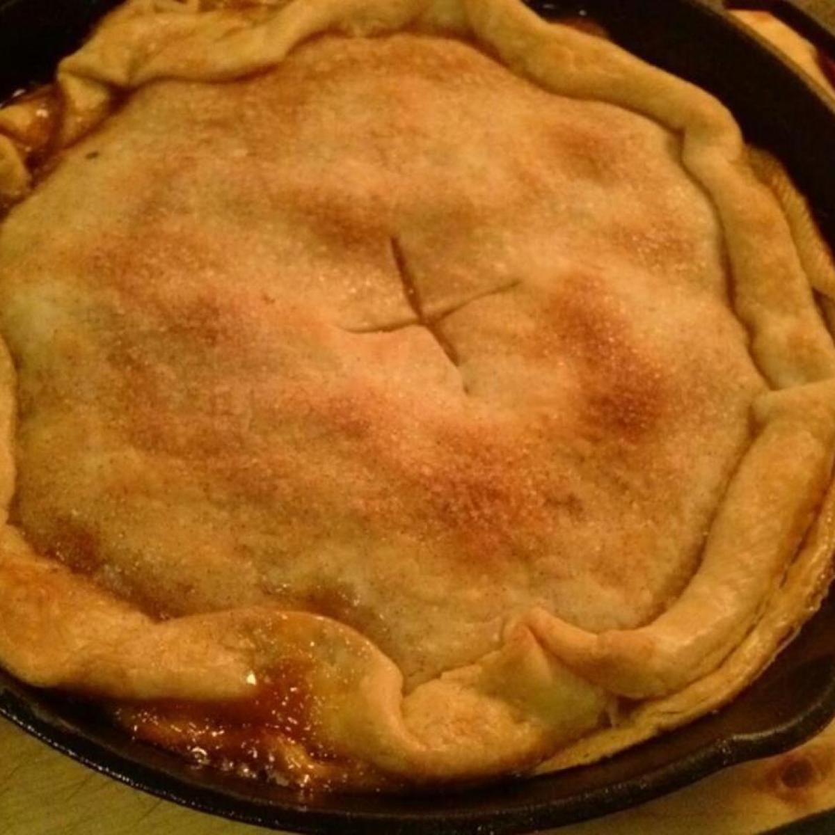 Accidental Cream Pie Cool skillet apple pie | recipe | pioneer woman, vanilla ice cream and