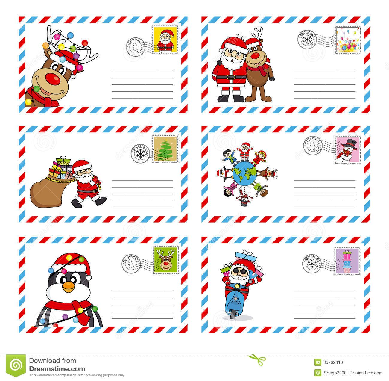 Letters From Santa Claus Template | dear Santa letters | Pinterest ...
