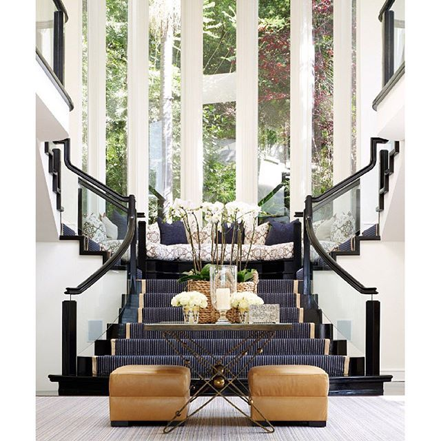 Staircase Ideas For Your Hallway That Will Really Make An: What A Way To Make A Statement! A Stunning Entryway