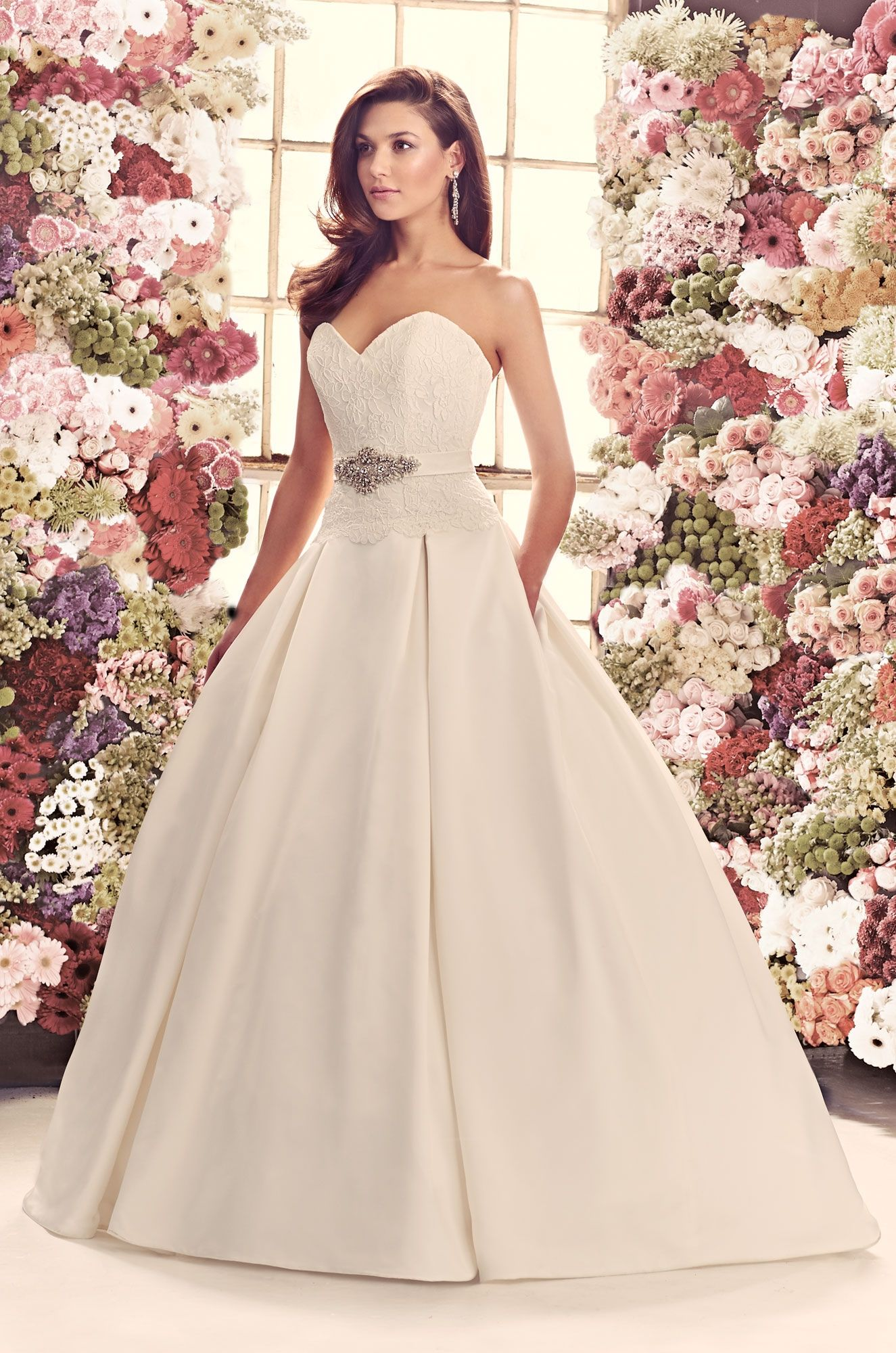 Gown 1916 2014 Fall Collection Mikaella Bridal