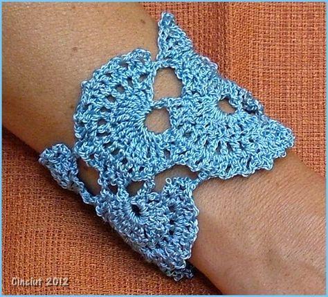 Free Crochet Bracelet Patterns Crochet Bracelet By Cinciut On