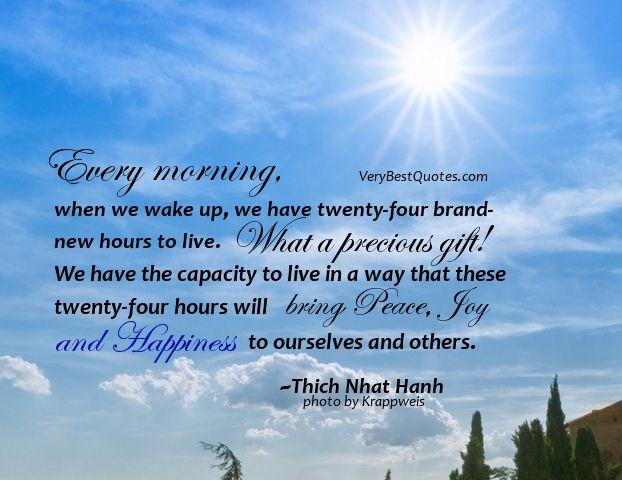Good Morning Spiritual Quotes Stunning Good Morning Quotes  Good Morning Quotes  Every Morning When We