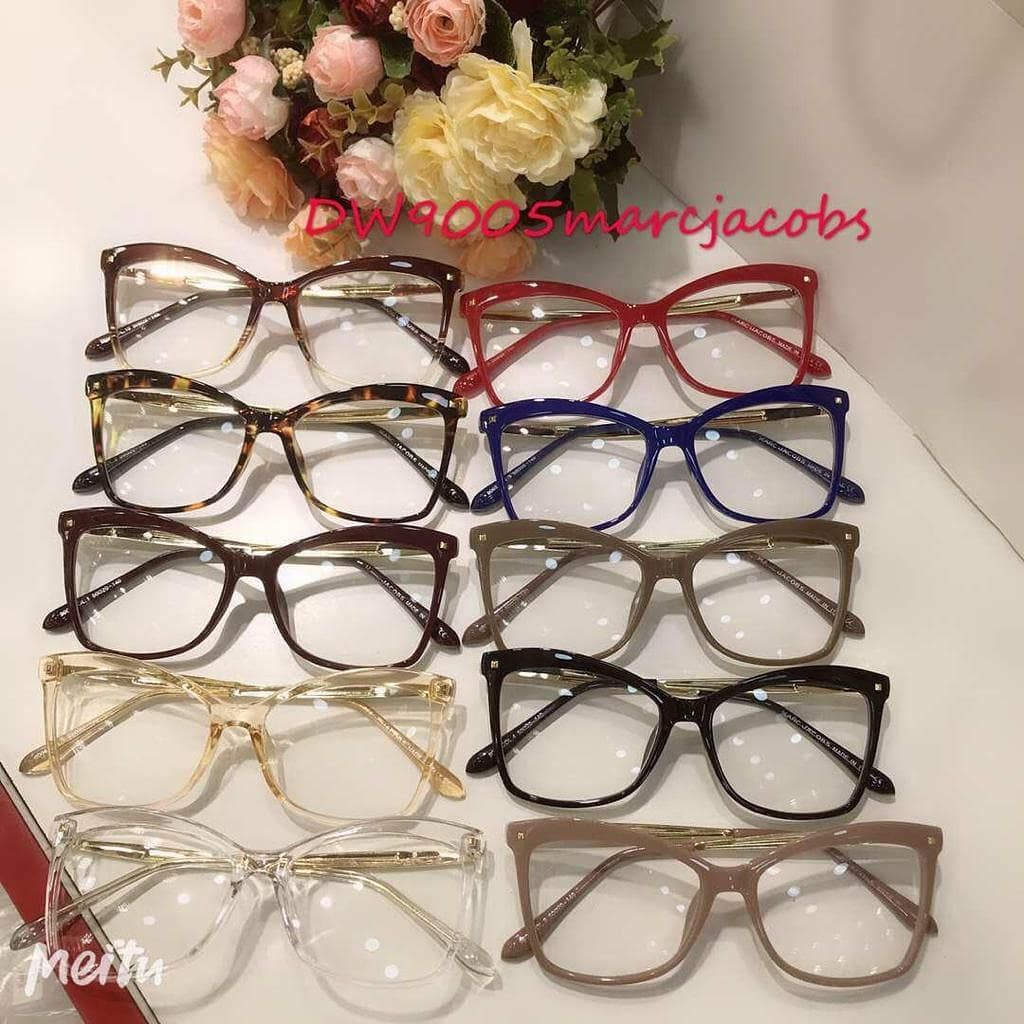Armacao Para Oculos De Grau Replica Marc Jacobs Vem Com Case E