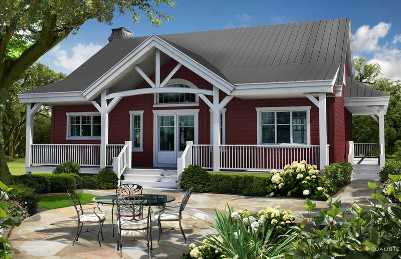 House Plans With Wrap Around Porches With Red Walls Beautiful House Plans House With Porch House Plans Farmhouse