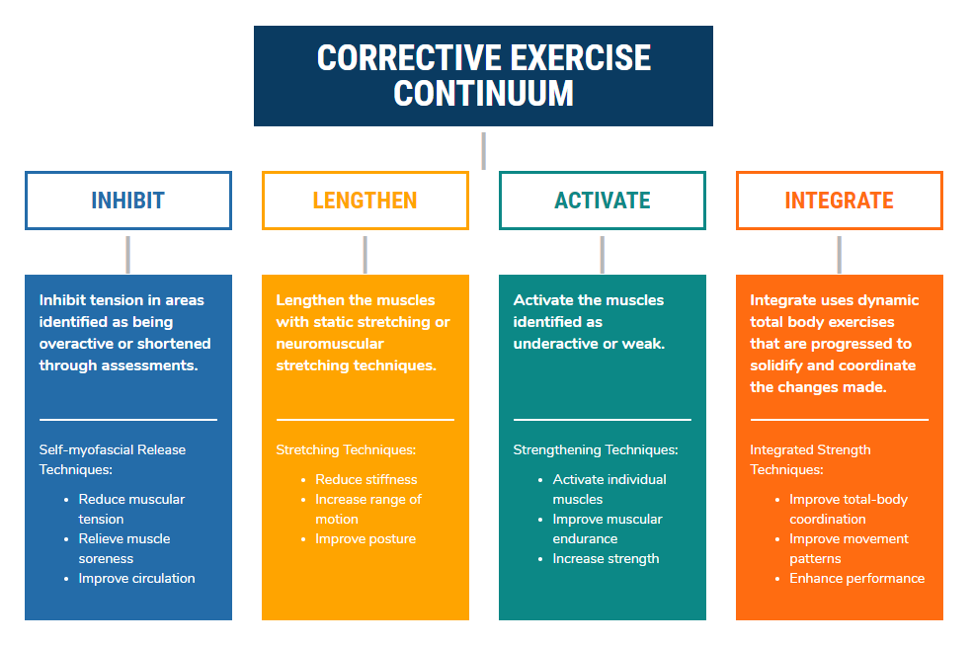 A Guide to NASM's Corrective Exercise Continuum (CEx) in