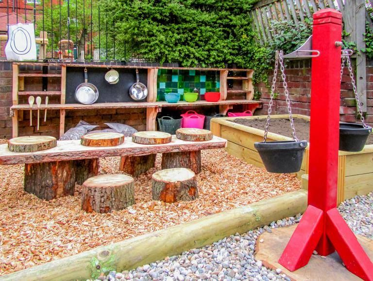 Pin By Aja Stephan On Kid S Room In 2020 Natural Playground Diy Playground Backyard Playground