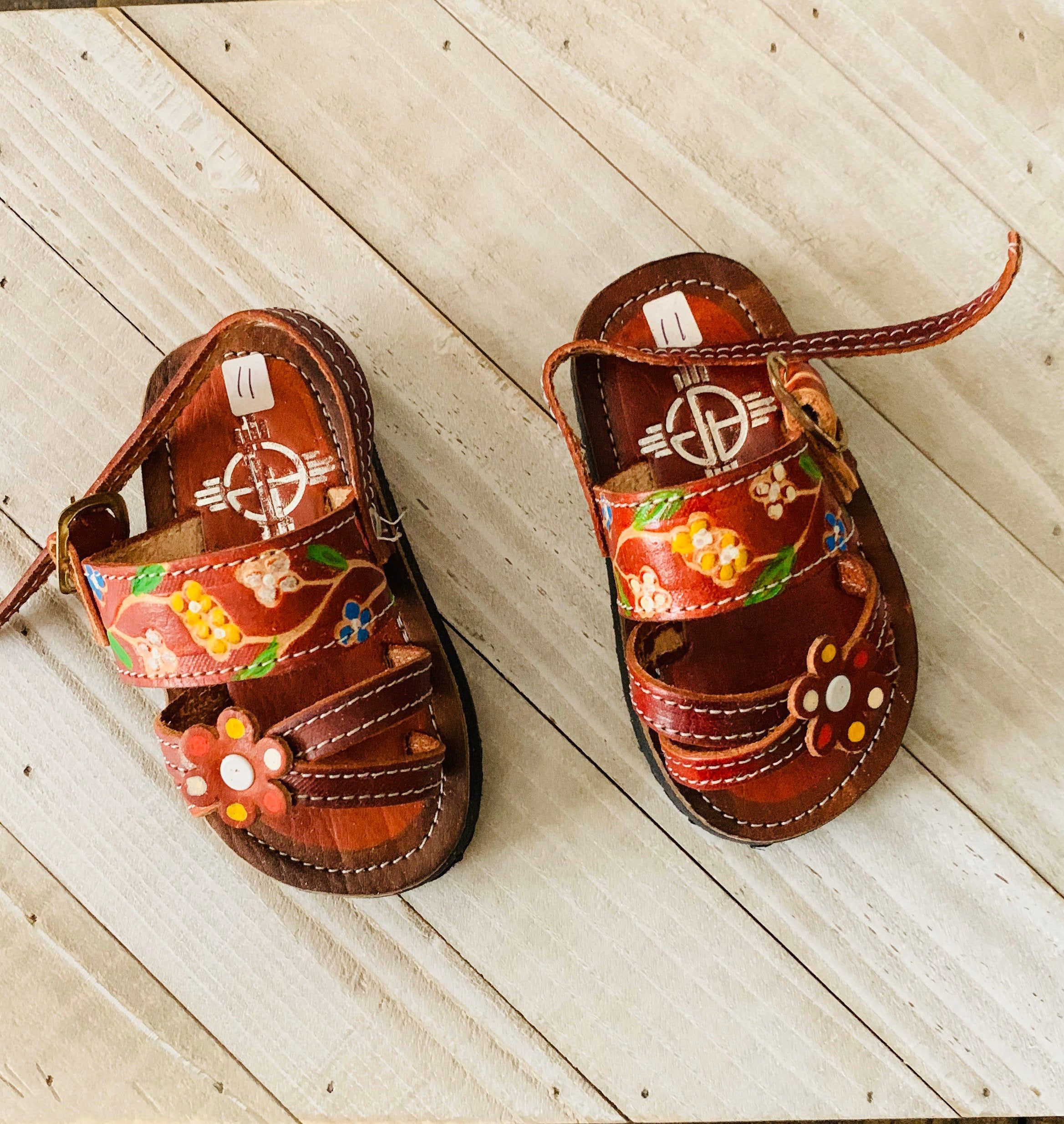 Mexican Huraches for Baby Girls and