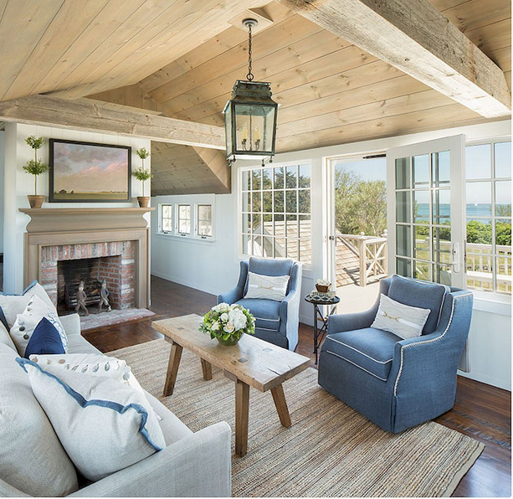 Cozy Coastal Living Room: Cozy Coastal Living Room Decorating Ideas (43)