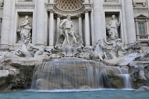 Trevi Fountain, Italy