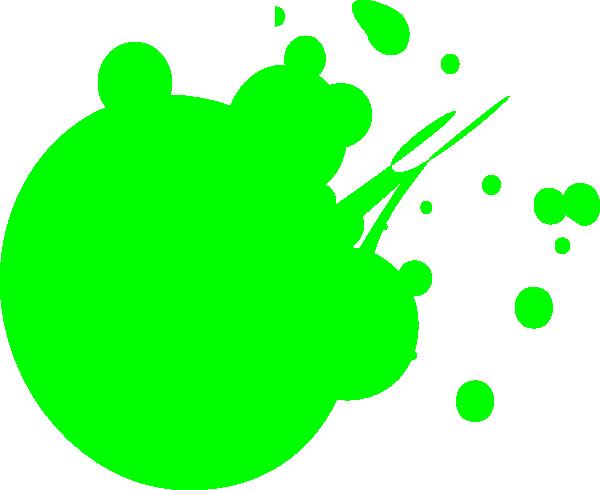 Neon Green Dot Splat Hi Png 600 490 Green Dot Neon Green Neon