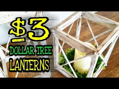 Dollar Tree DIY Room Decor Lantern