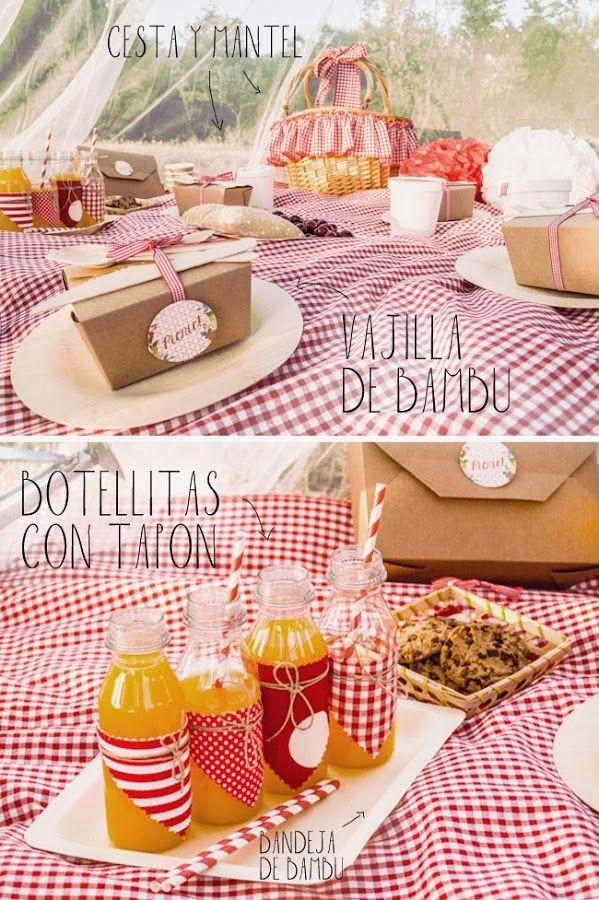 Comida para picnic y envases para llevar picnics ideas - Comida para llevar de picnic ...