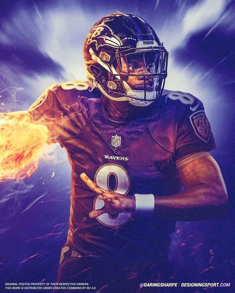 Lamar Action Jackson Baltimore Ravens Football Ravens Football Baltimore Ravens