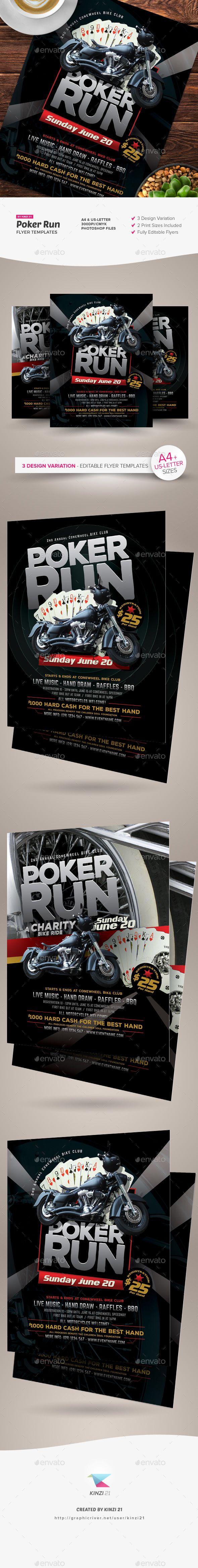 Download Poker Run Flyer Templates Flyer template, Flyer