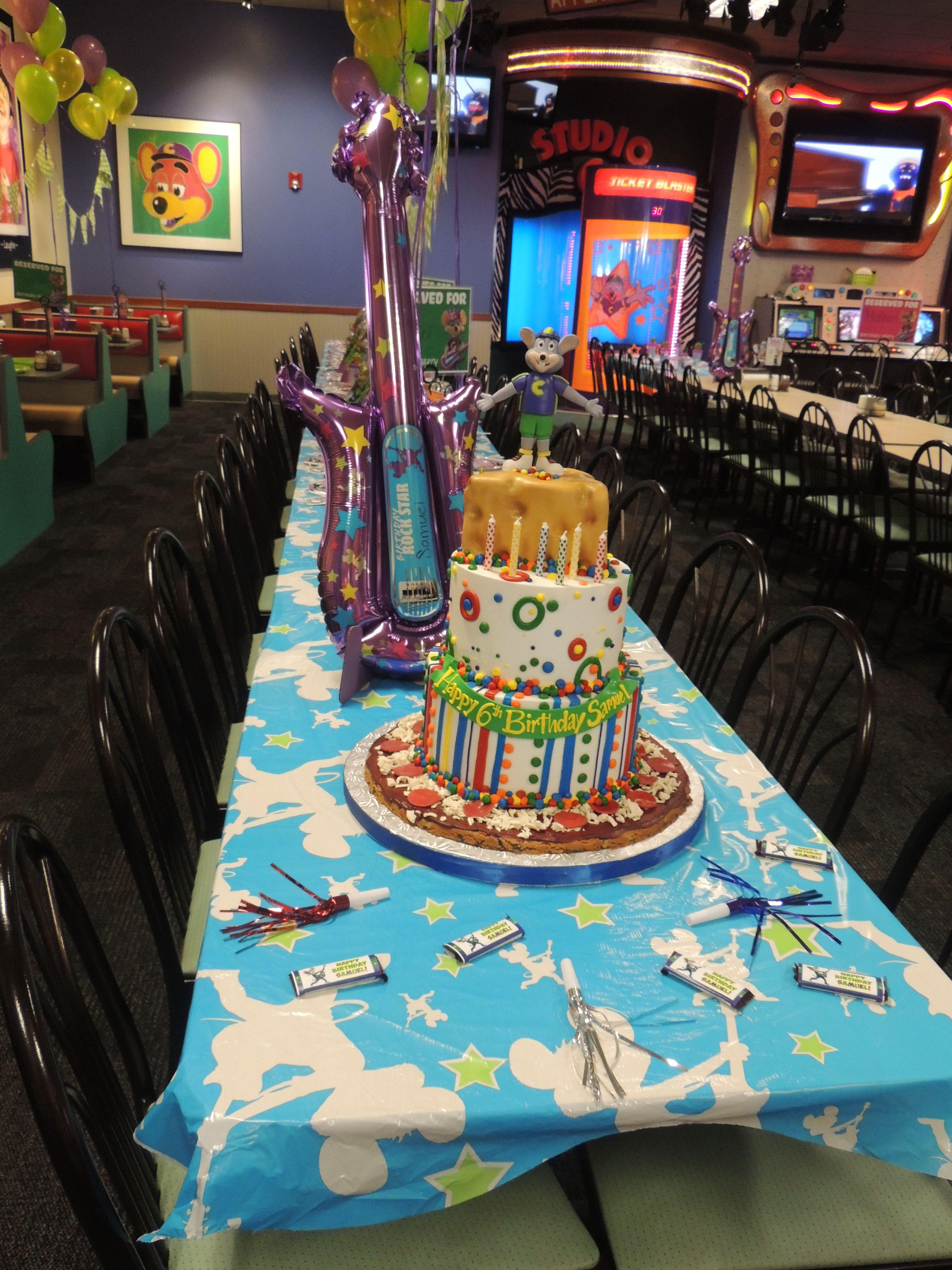 Chuck E Cheese Birthday Birthday Party In 2019 Chuck E