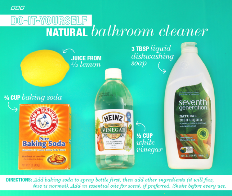 6 All Natural Household Dyi Cleaners Diy Beauty Tips Tricks Diy Cleaners Diy Bathroom