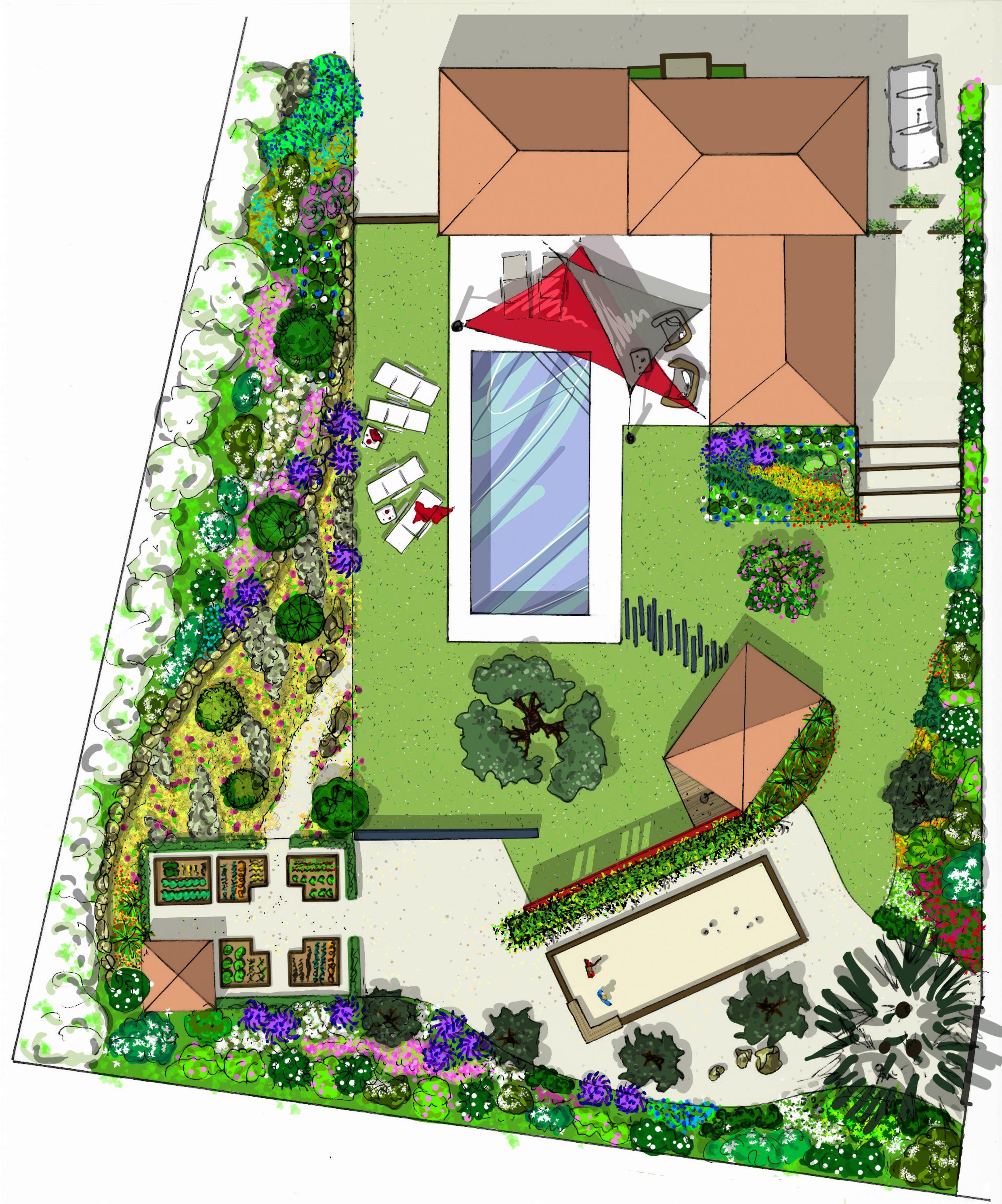 atelier naudier architecte paysagiste concepteur montpellier aix en provence jardin. Black Bedroom Furniture Sets. Home Design Ideas