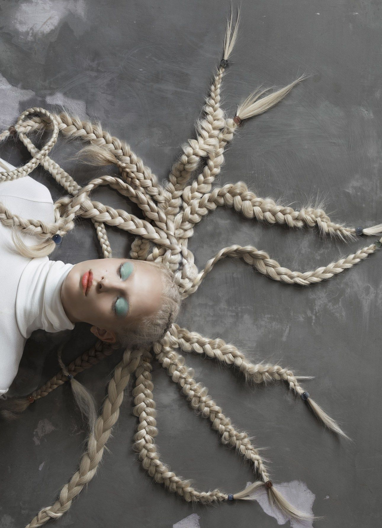 Frederikke Sofie by Michael Baumgarten for Vogue Italia December 2015