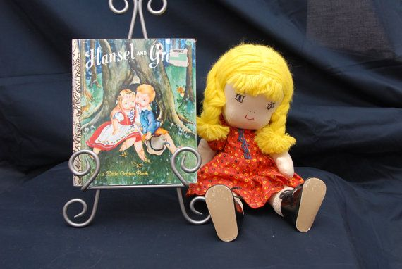 Little Golden Book  1976  Hansel and Gretel by cattreasure on Etsy, $2.25