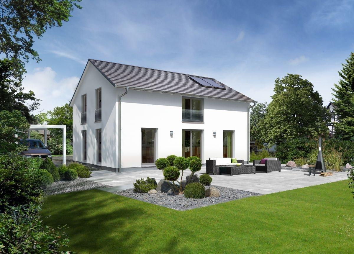 Einfamilienhaus Architektur Modern Im Landhausstil Mit Galerie
