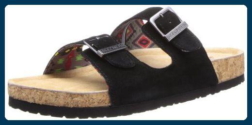 the latest 782a9 482a9 Skechers Memory Foam Doppel Strap Sandale - Espadrilles für ...
